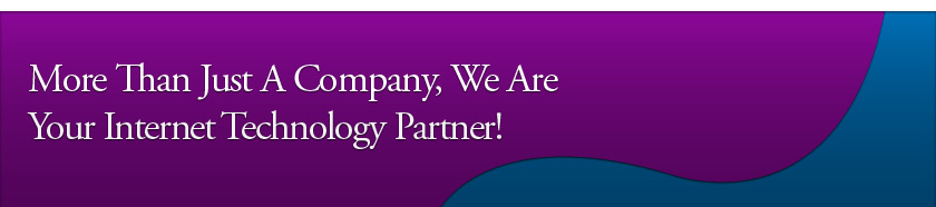 More Than Just A Company, We Are Your Internet Technology Partner!